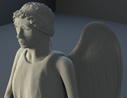 """Weeping Angel"": game model and sculpt"