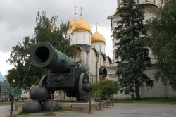 Moscow Kremlin's Big Cannon